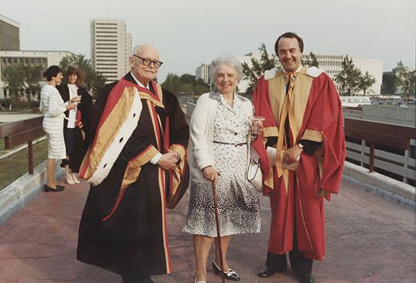 Doctorat honorique de l'Université Laval, 1983